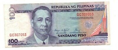 Bank Of  Philippines  , 100 Pesos 1987-94, Vg