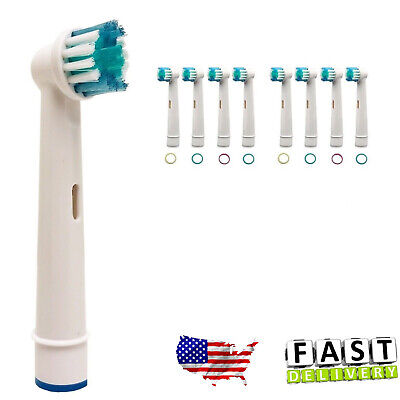 8 Pcs Precision Electric Toothbrush Replacement Brush Heads Fit For Oral B Braun