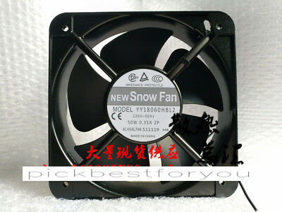 SNOW FAN YY18060HBL2 220V 50W 0.35A 180*180*60mm cooling fan #Mv64 QL