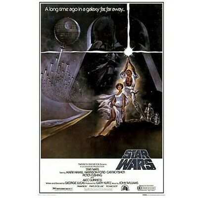 Poster affiche Star Wars Epidode IV A new hope 61x92cm