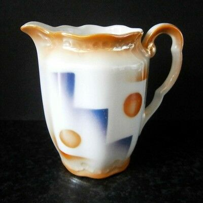GENUINE VINTAGE ART DECO LUSTRE WARE MILK JUG CREAMER no makers mark