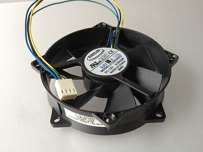 DC12V 0.38A Everflow F129025SU Server Round Sleeve Bearing CPU Cooling #M278 QL