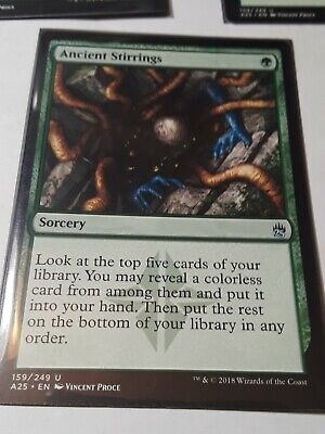 from Mystery Booster *MtG: Ancient Stirrings Masters 25 UC magicman-europe*