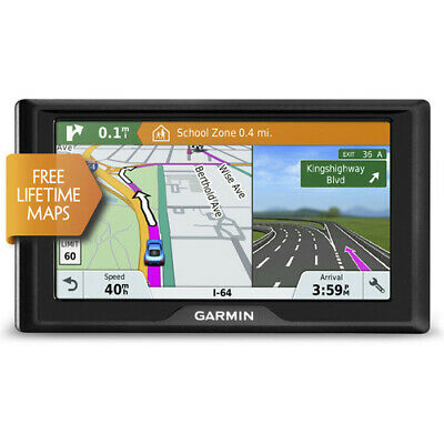 "Garmin Drive 61 LM 6""  In-Car GPS Navigation System Free Lifetime Map Update"
