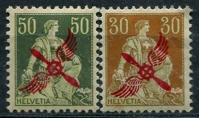 Swiss 1919 00001/2 Pretty series / Signed Dr. Roig