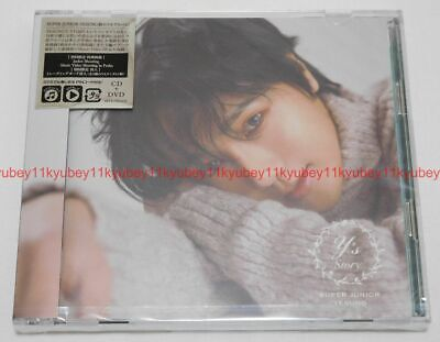 New SUPER JUNIOR YESUNG STORY First Limited Edition CD DVD Card Japan AVCK-79551