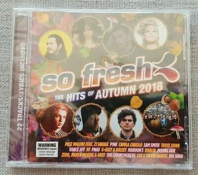 So Fresh, The Hits Of Autumn 2018: CD. New & Sealed.