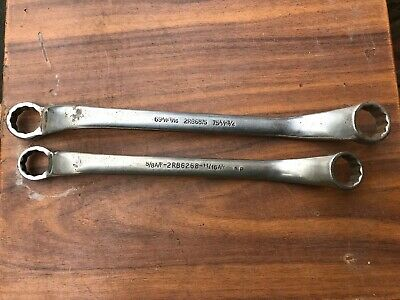"""Britool 2RB6875 11/16"""" A/F 3/4"""" A/F & 2RB6268 5/8"""" A/F 11/16"""" Ring Spanners"""
