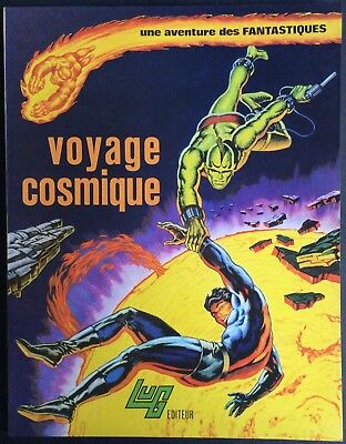 THE FANTASTIC Tome 5 Trip cosmic EO 1974 All nearly new