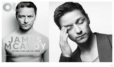 **SALE**Out Magazine James McAvoy Issue- Oct 2014-Gay, Lesbian, Trans Lifestyle