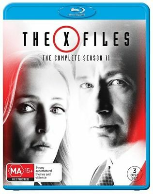 The X-Files : Season 11 (Blu-ray, 3-Disc Set) NEW