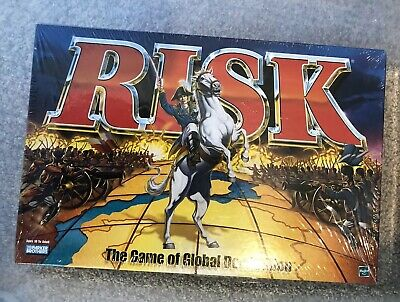 Risk The Game Of Global Domination Hasbro Parker Brothers 1998 - New & Sealed