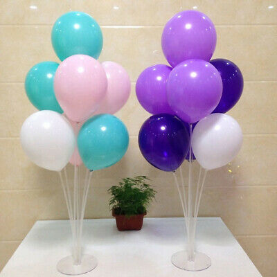 1-Set Clear Balloon Column Upright Balloons Display Stand Wedding Party Decor
