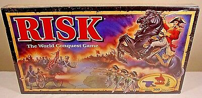 Risk The Game Of Global Domination Hasbro Parker Brothers 1993 - New - Free Ship