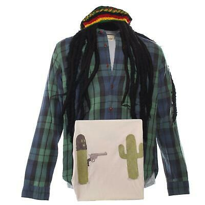 The Last Man on Earth Phil Tandy Miller Will Forte Screen Worn Shirt Set Hat S4