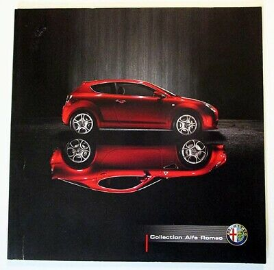 Brochure Collection Alfa Romeo année 2009