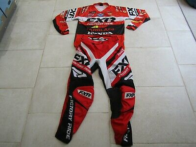 fxr racing motocross team kit 32 inch bottoms and a small top