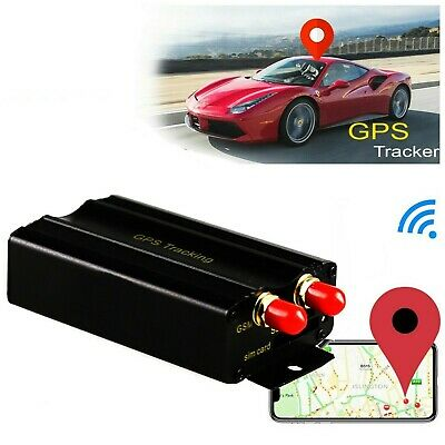 GPS SMS GPRS Vehicle Tracker Locator Alarm SIM Card TK105 Car Tracking Device