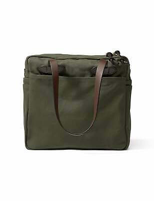 0b77073fa8 Filson Tote Bag With Zipper - Otter Green