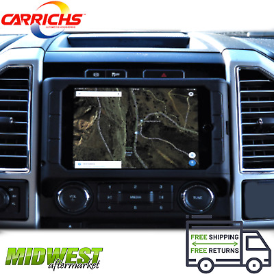Charrichs iPad Mini Samsung S2 Dash Kit Mount For 2015-2018 Ford F150 17-18 SD