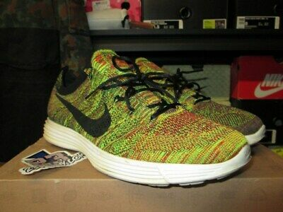 best website 9d5eb 9c39f Nike Lunar Flyknit Htm Nrg Dark Grey Black 535089 009 Size 12 Multicolor Tz