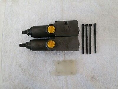 BOSCH/REXROTH dual compensator valve 799785 GGG S (NEW) unused,Free shipping.