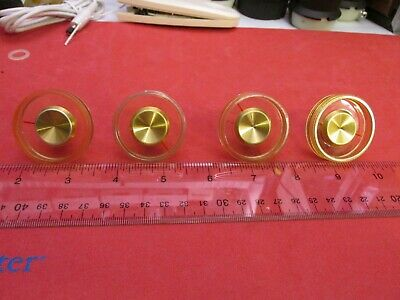 Vintage RCA Radio Knobs Model 3VF065 Clear Plastic Fast Shipping Quantity 1