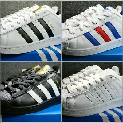 finest selection 300f9 108f4 Adidas-Superstar-Sneaker-Uomo-Donna-VARI-COLORI