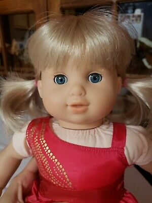 American Girl Doll Bitty Baby Twins Toddler Girl Blonde Hair Blue Eyes Twin