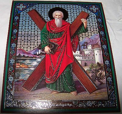 Christian Icon, St. Apostle Andrew The First Called