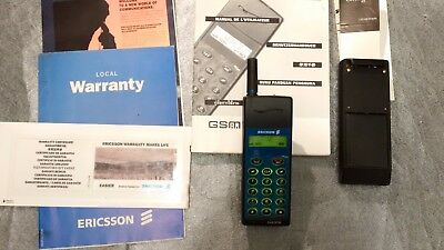 Ericsson GA 318 GSM collector vintage phone. Fonctionne Ok