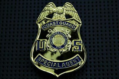 Unofficial Gold Guard Police US Badge Full size collectible