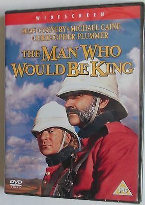 The Man Who Would Be King (1975) Sean Connery / Michael Caine (DVD) NEW