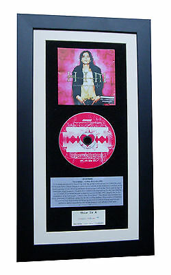 HIM Razorblade Romance CLASSIC CD GALLERY QUALITY FRAMED+EXPRESS GLOBAL SHIP
