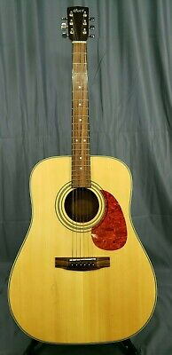 Cort Earth Series Earth70 Dreadnought Acoustic Guitar Natural+case (19509-2LE)