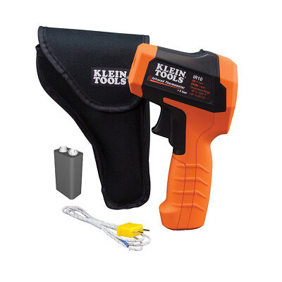 Klein Tools IR10 20:1 Dual Laser Infrared Thermometer - w/ Case