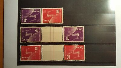 1950, Tete bechte with tab 2 pairs