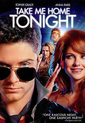 **NEW* Take Me Home Tonight (BLURAY, 2011)Topher Grace- Anna Faris **DISC ONLY**