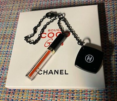 CHANEL VIP GIFT key charm on chain with small mirror NIB