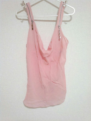 a5c4bcb58 Authentic Christian Dior Vintage Camisole Tank Top Pink Silk Size 38 US 6