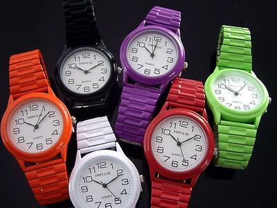 Impulse Ladies Colourful Stretch Band Watches