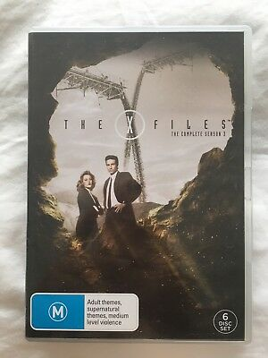 The X-Files : Season 3 (DVD, 2007, 6-Disc Set)