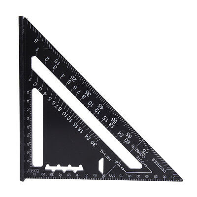 Triangle Angle Square Speed Rafter Protractor Miter Ruler Kit BDAU