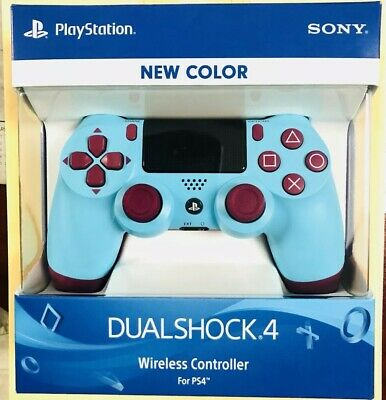 SONY Dualshock 4 Wireless Controller Berry Blue for Playstation 4