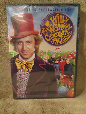 Willy Wonka Charlie & The Chocolate Factory Gene Wilder DVD  New, Factory Sealed