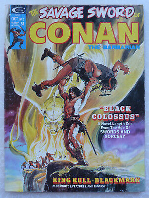 THE SAVAGE SWORD OF CONAN THE BARBARIAN Vol: 1 #2 Black Colossus - October 1974