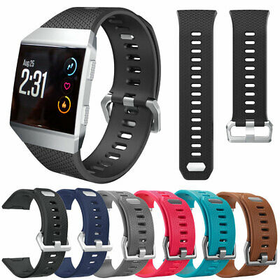 Sports Jogging Replacement Flexible Silicone Strap Wrist Band For Fitbit Ionic
