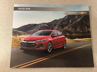 2019 CHEVY CRUZE 34-page Original Sales Brochure
