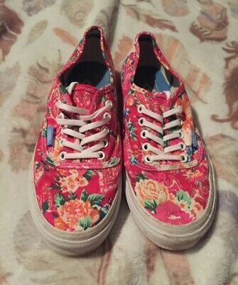 e66e9c8b10 VANS VAN DOREN California Dana Point Print Canvas Women Shoes Size ...