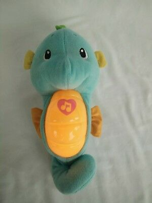 Fisher Price Soothing Sounds Soft Light Sea Horse Glow Soothe